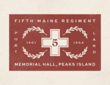 Fifth Maine Regiment Badges